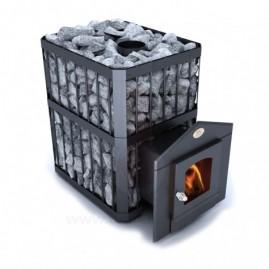 Дровяная печь для бани, сауны Новаслав Пруток ПКС-01 ПС2