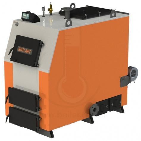 Твердотопливный котел Kotlant КВ-150 с автоматикой
