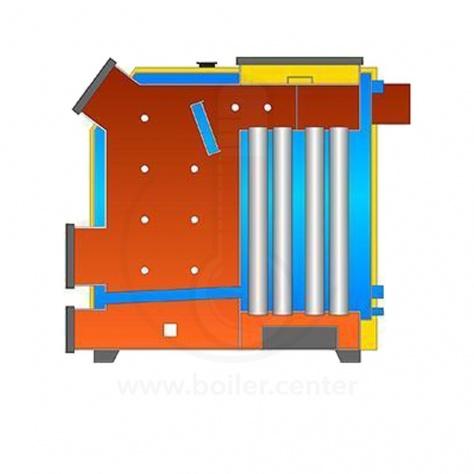 Твердотопливный котел Kotlant КВ-250 с автоматикой zPID