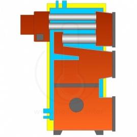 Твердотопливный котел БелКомин TIS Pellet 45