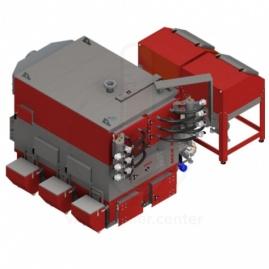 Твердотопливный котел Defro EKOPELL MAX вод.реш 200