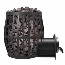 Дровяная печь для бани, сауны Canada ПКБ-Бочка 20 с выносом