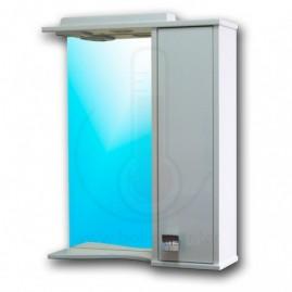 Зеркало со шкафчиком AFamily Данко GZ 60 (L,R) Белое
