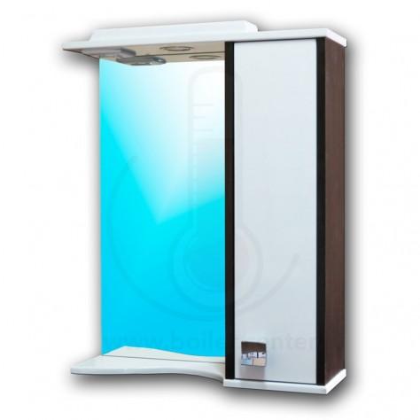 Зеркало со шкафчиком AFamily Данко GZ 65 (L,R) Венге