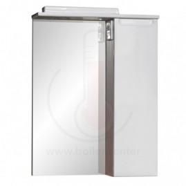 Зеркало со шкафчиком AFamily Палермо GZ 55 Белое (L,R)