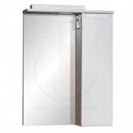 Зеркало со шкафчиком AFamily Палермо GZ 60 Белое (L,R)