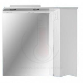 Зеркало со шкафчиком AFamily Комо GZ 50 (L,R) Белое